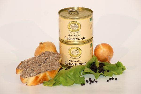 Hausmacher Leberwurst in der Dose / Kloster Plankstetten