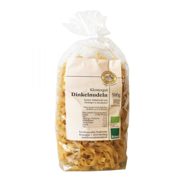 Dinkel-Bandnudeln 500 g / Kloster Plankstetten