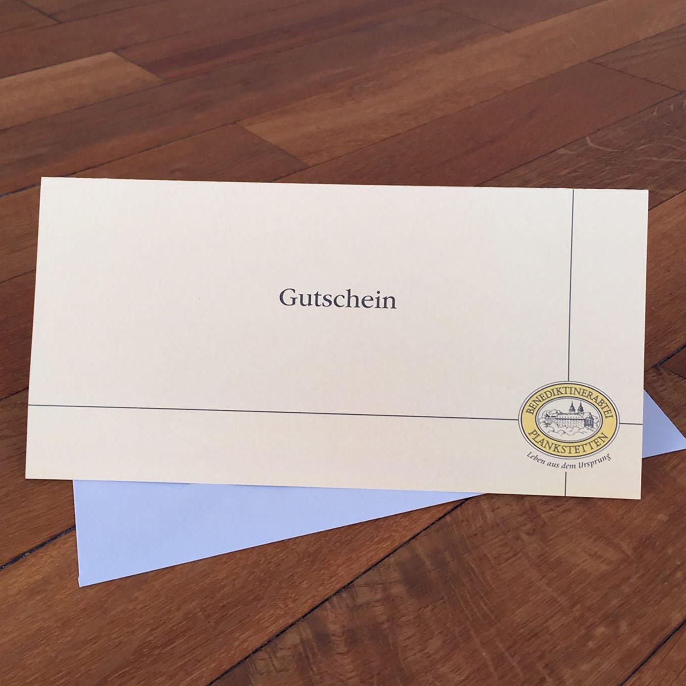 Geschenkgutschein / Kloster Plankstetten